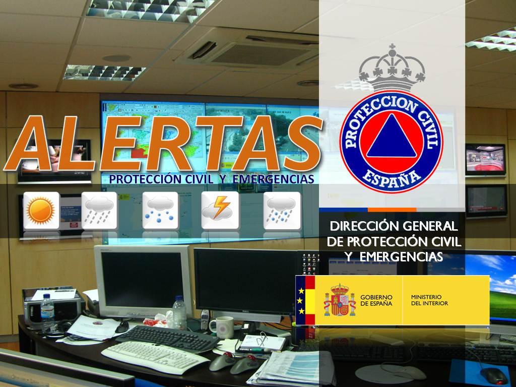 alertas proteccion civil