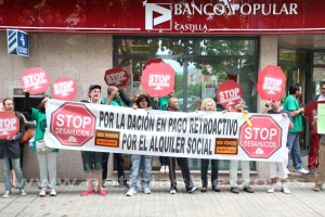 stop desahucios banco popular