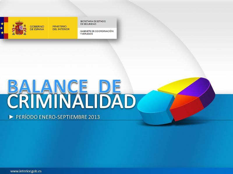 balance criminialidad