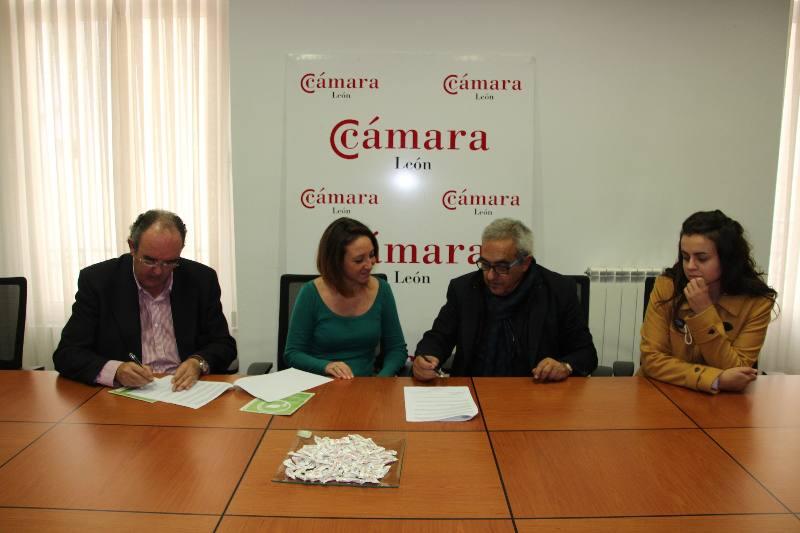 firma convenio camara leon