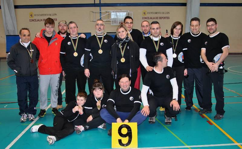 Campeonato provincial de tiro con arco en sala.