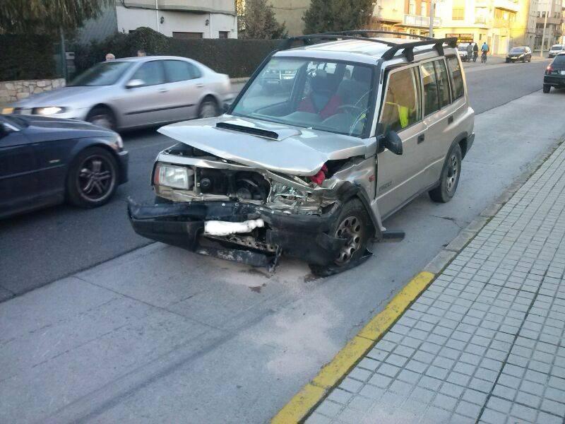 accidente frontal avenida portugal