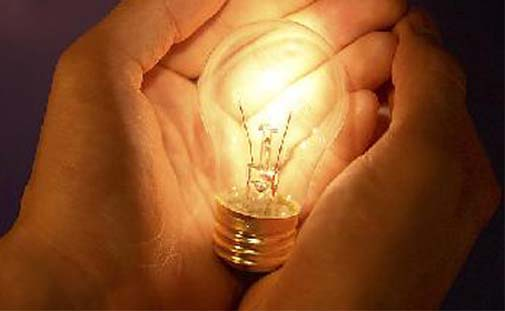 bombilla luz electricidad