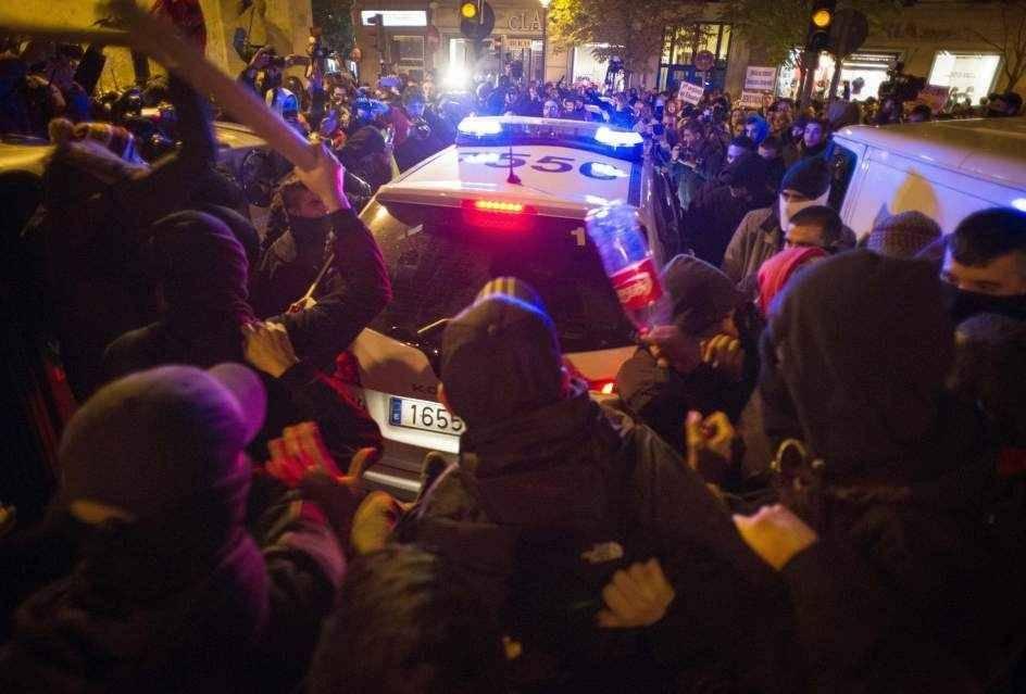 disturbios madrid