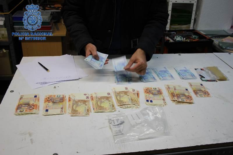 billetes falsos artesanales