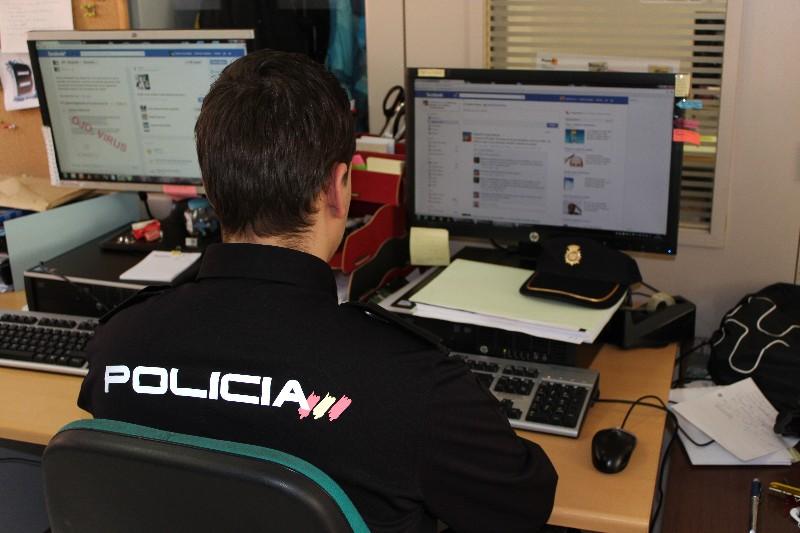 policia nacional ciber acoso