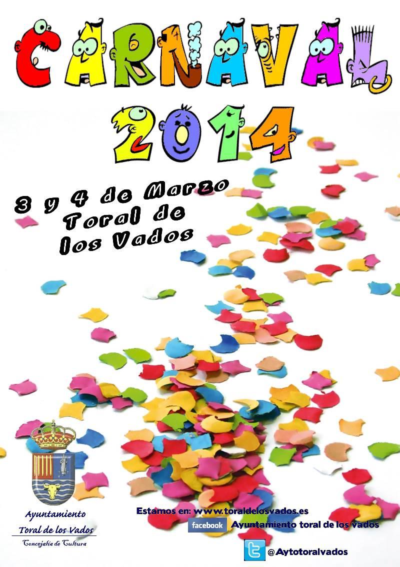 cartel carnaval 2014 toral de los vados