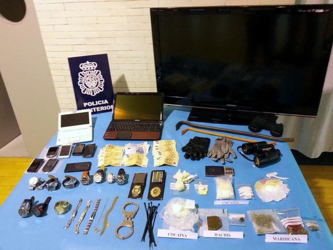 grupo berciano robo viviendas y drogas