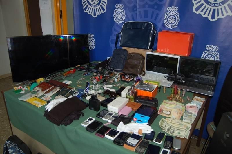 grupo itinerante robos viviendas