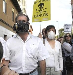 contra incineracion residuos