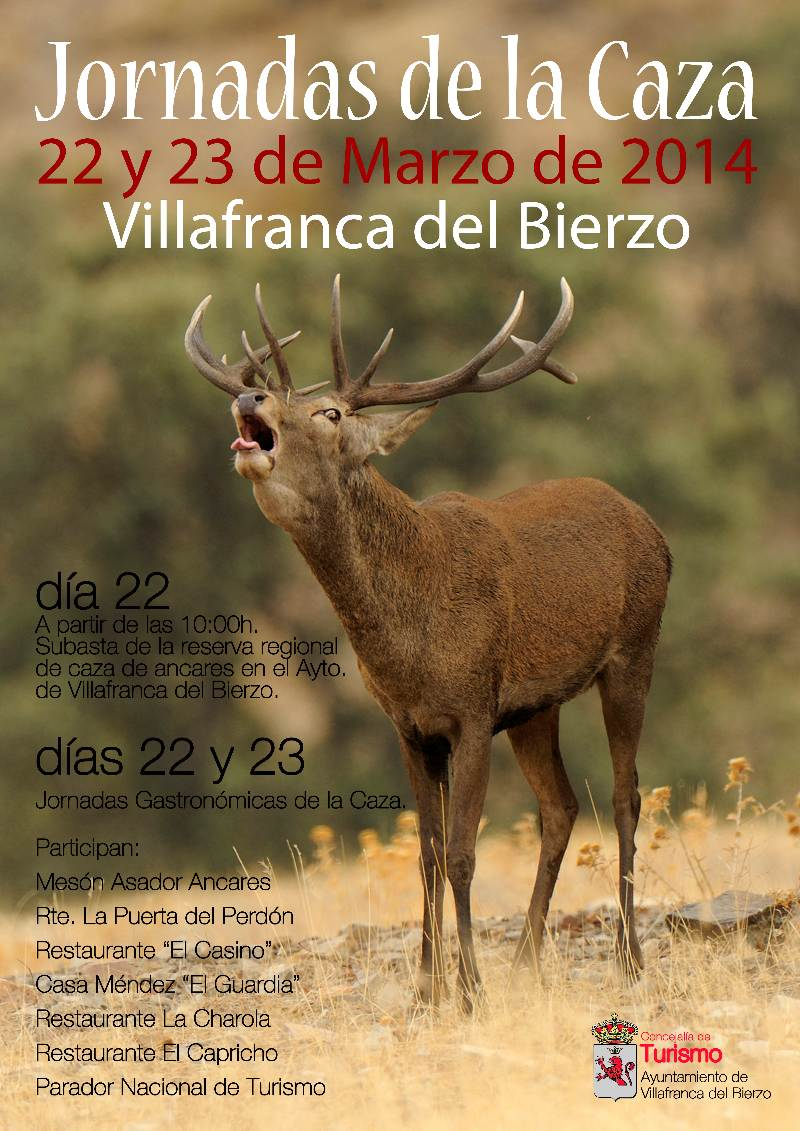 jornadas caza villafranca bierzo 2014