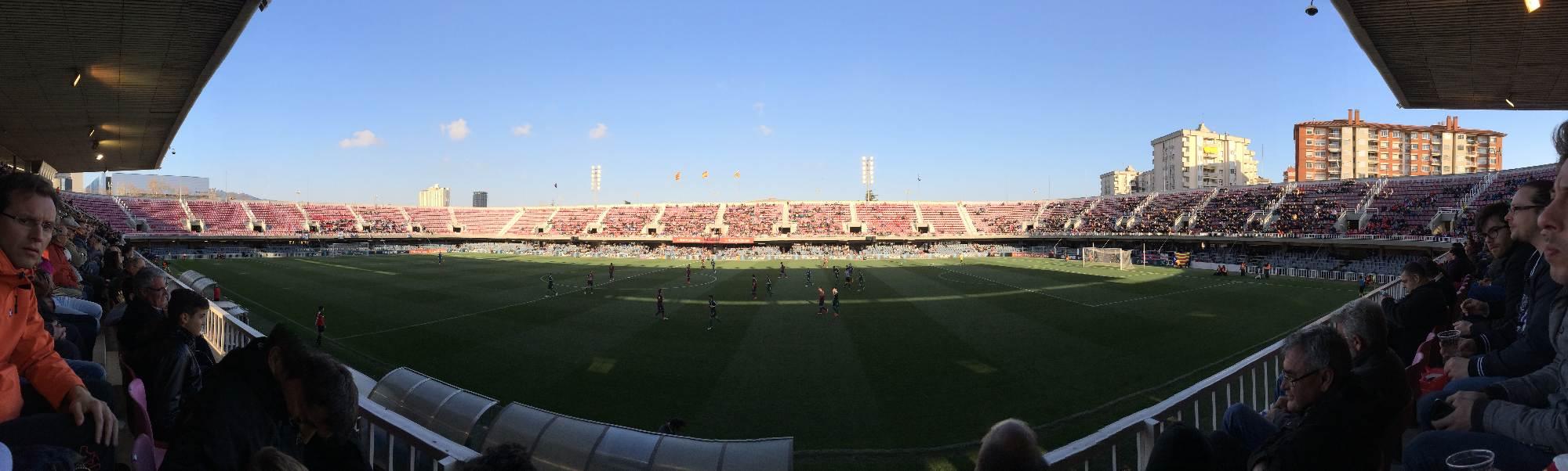 panoramica mini estadi barcelona ponferradina