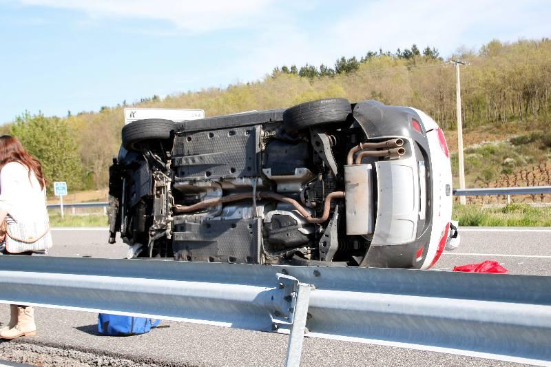 accidente a6 km395 2