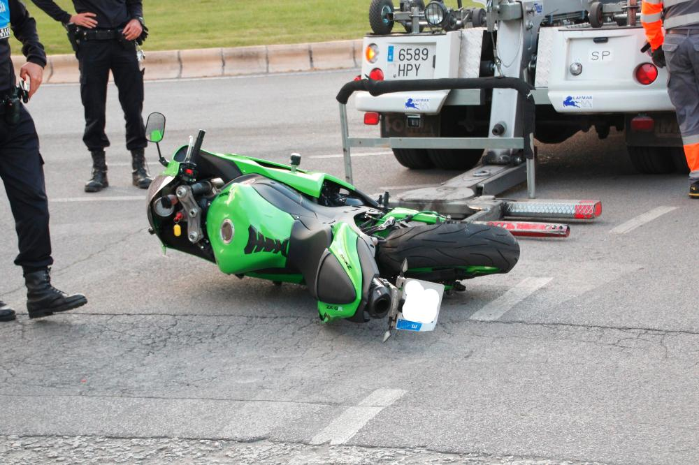 accidente moto donantes