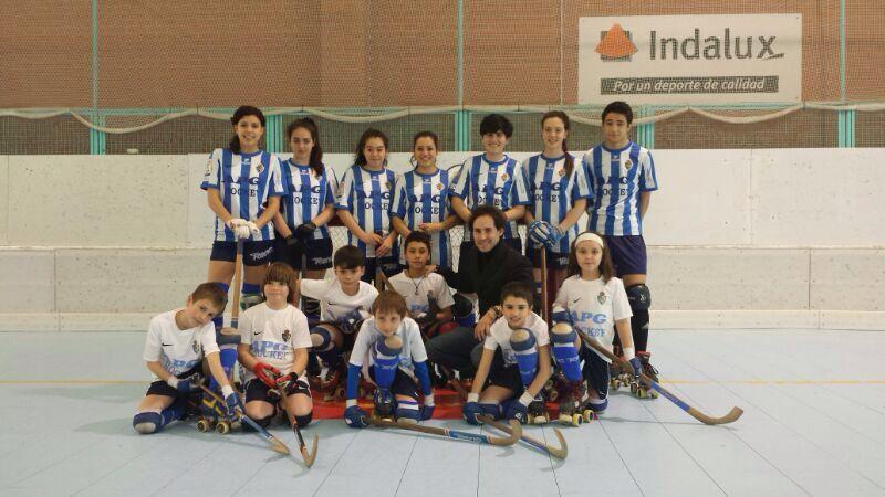 femenino patinaje en Valladolid