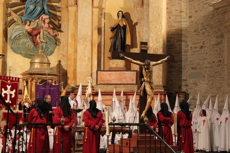 viernes santo villafranca bierzo