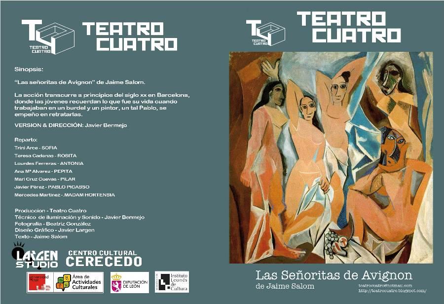 cartel Las-señoritas teatro villafranca bierzo