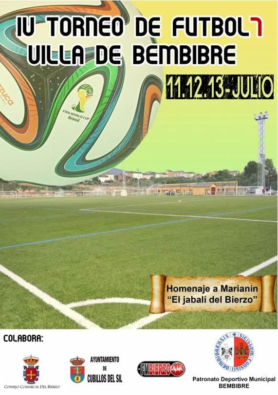 iv torneo futbol 7 bembibre