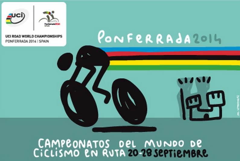 correos tarjeta mundial ciclismo