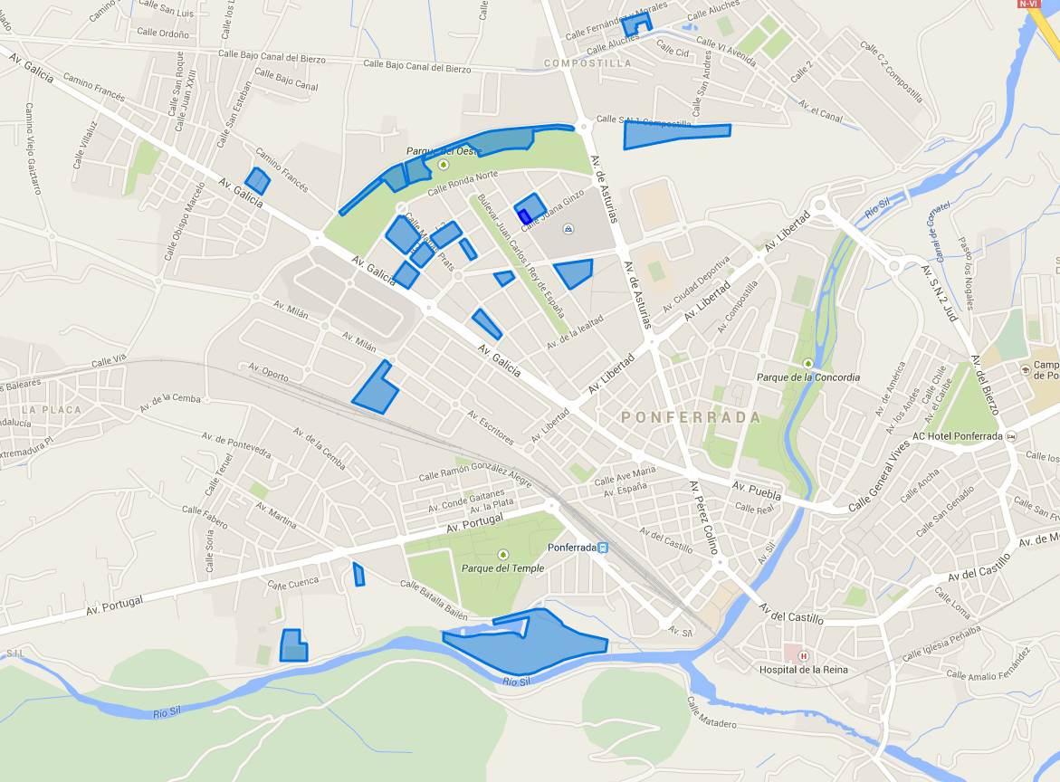 mapa aparcamiento gratuito mundial