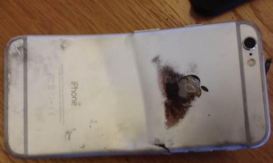 arde iphone 6