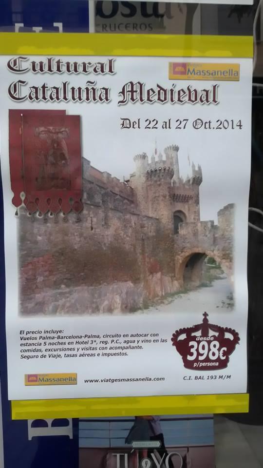 cataluña medieval castillo ponferrada