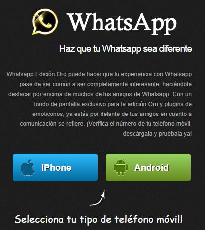 whatsapp oro