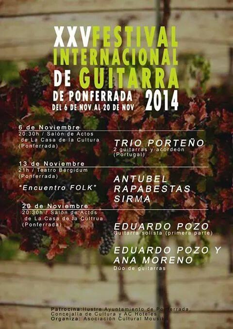6 NOviembre-Festival Guitarra