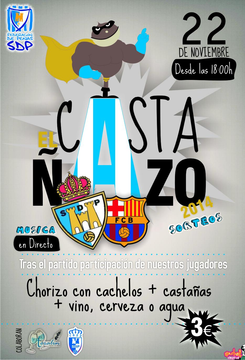 cartel el casta+¦azo 2014