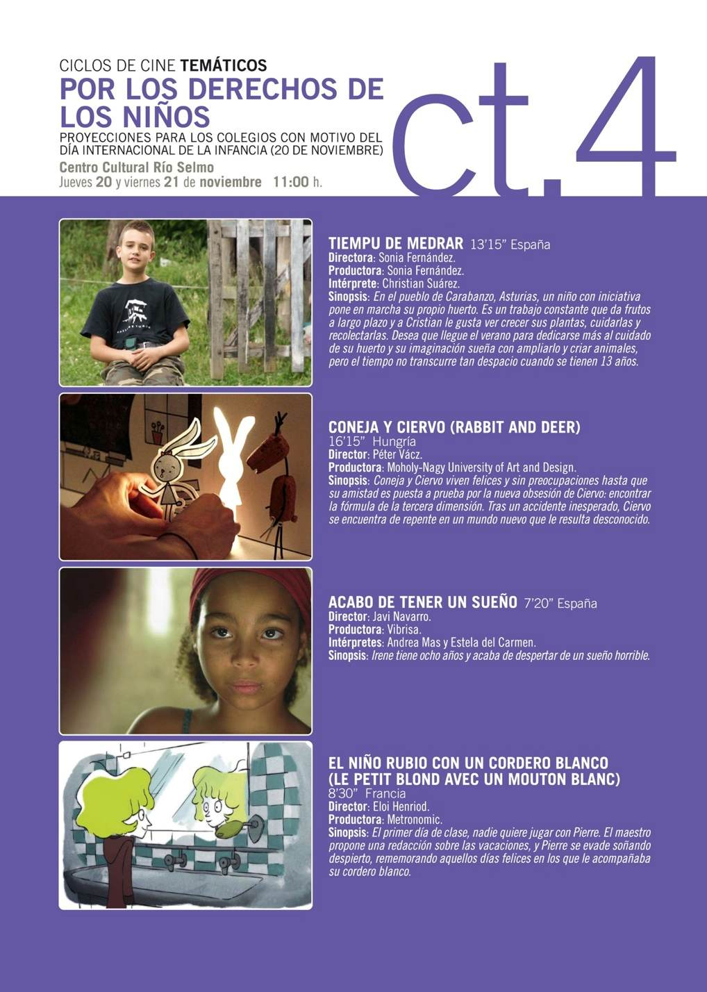 derechos niñoo 2014