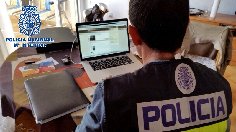 policia nacional descargas
