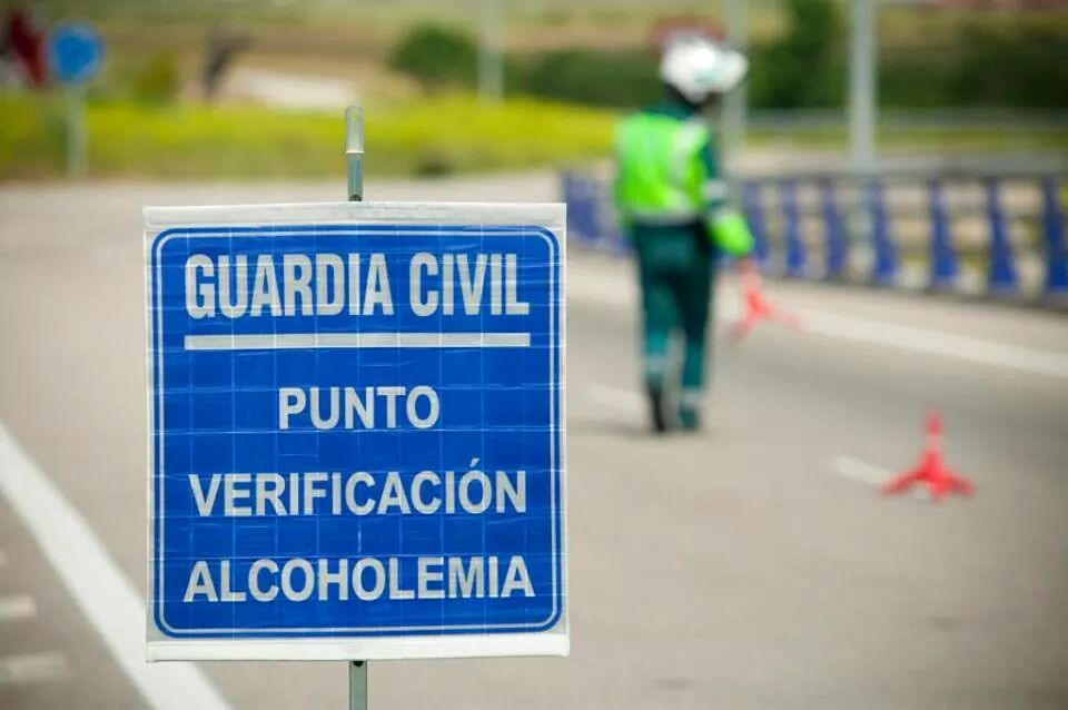 guardia civil control alcohol