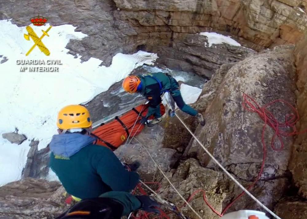 rescate montañero marruecos guardia civil