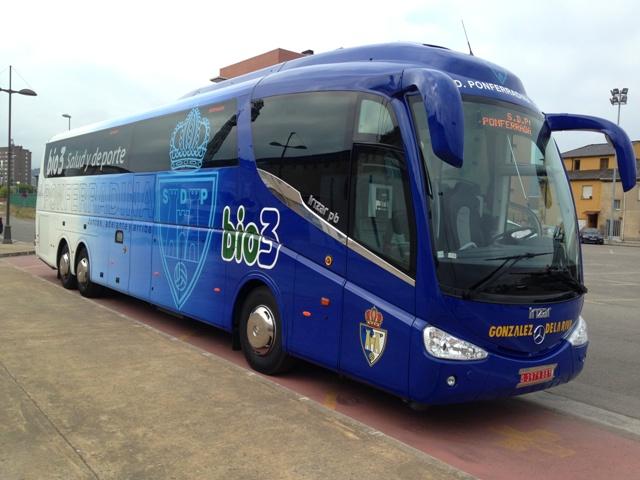 nuevo autobus deportiva ponferradina