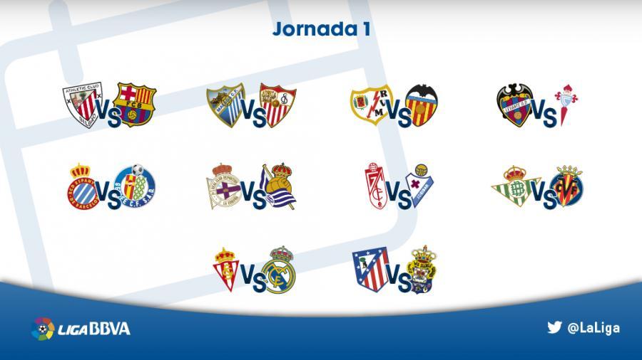primera jornada liga 15 16