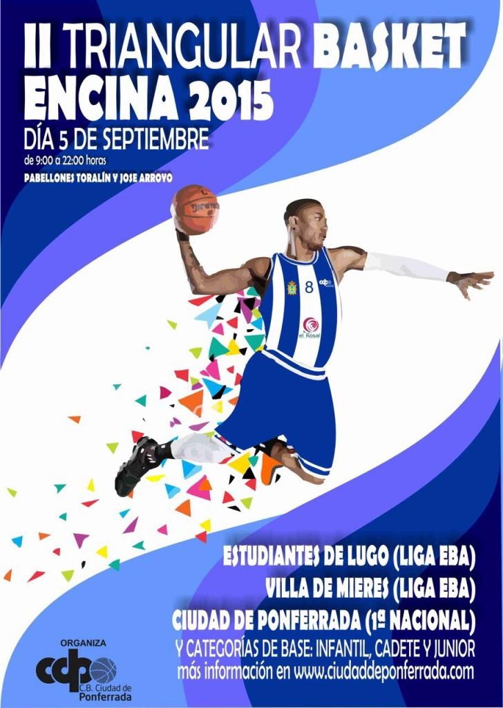 II Torneo Triangular Encina 2015 de Baloncesto