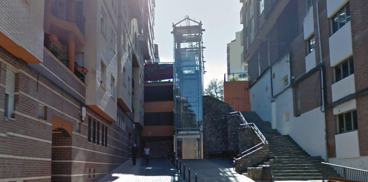 ascensor calle guatemala
