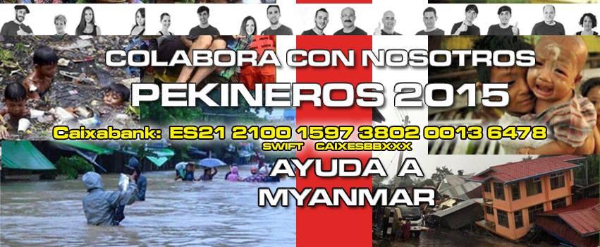 ayuda myanmar pekin express