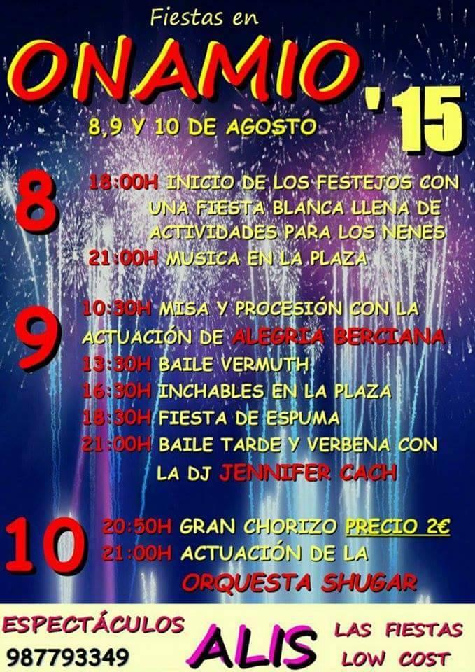 fiestas onamio 2015