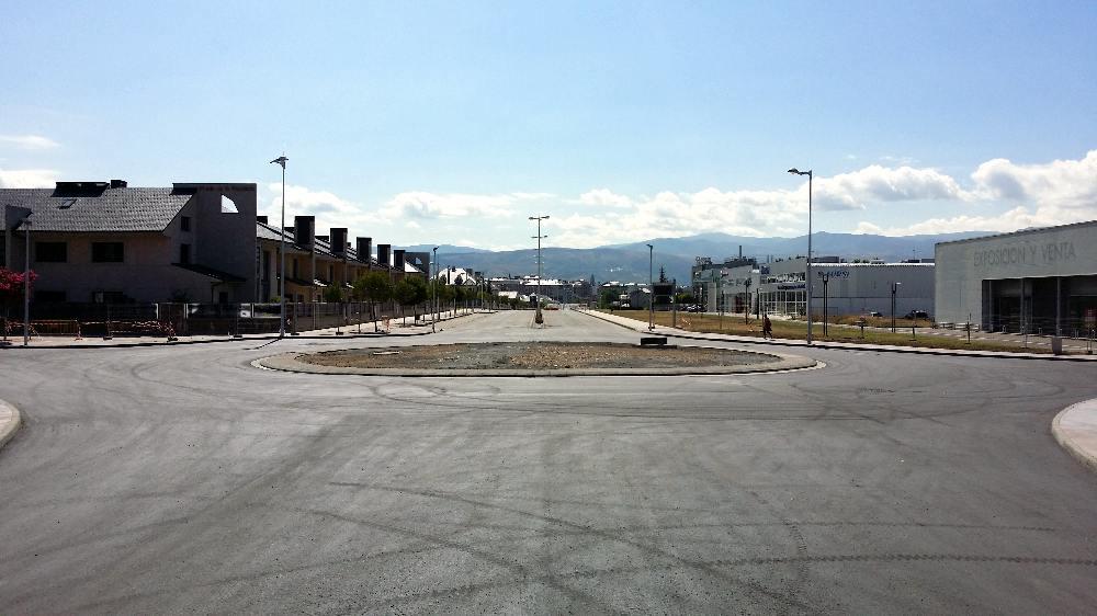 nueva rotonda avenida galicia