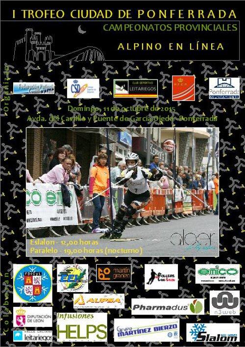 I Trofeo Ciudad de Ponferrada Alpino en Línea G
