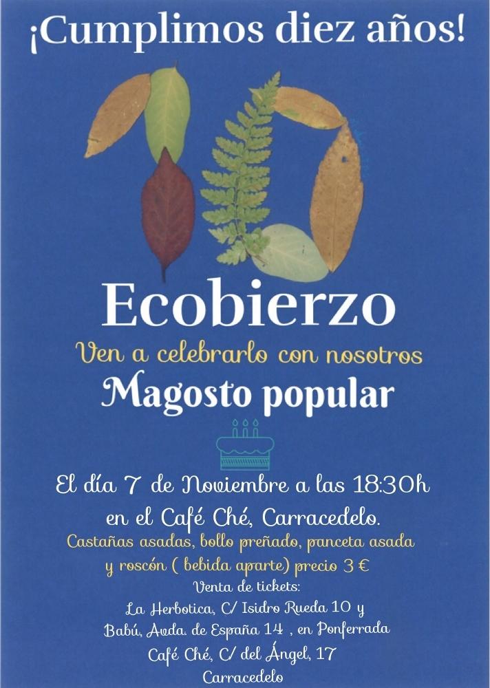 10 años Ecobierzo. Magosto.