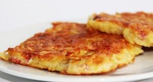 buñuelos de patata y queso