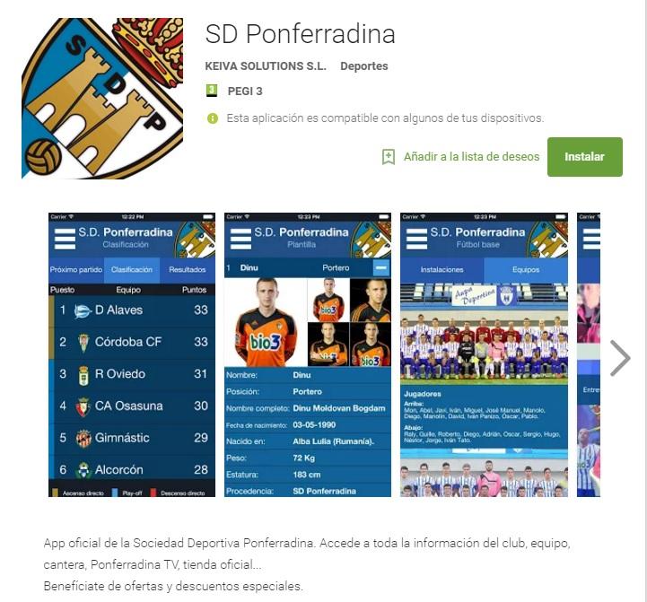 app ponferradina