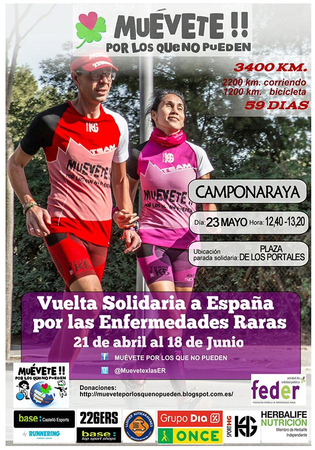 23 Mayo- Vuelta solidaria