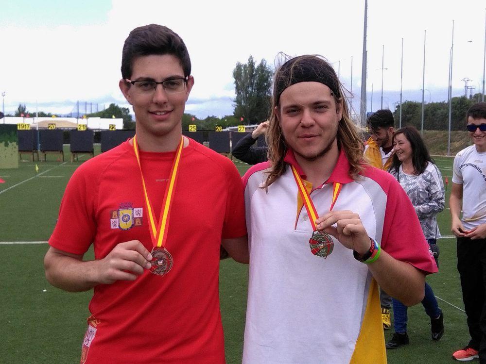 Medallas de Mario y Alejandro