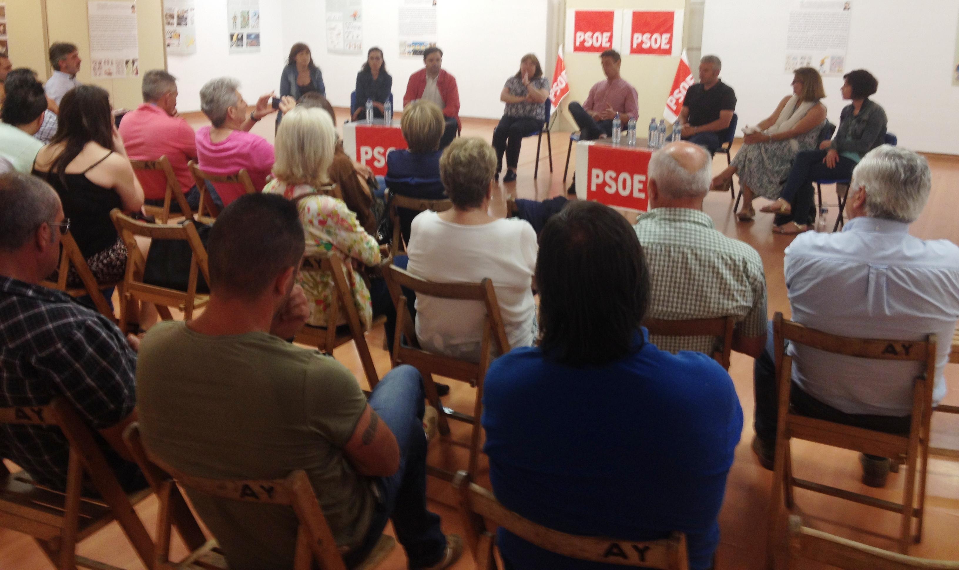 Acto Villablino PSOE 23-6-16