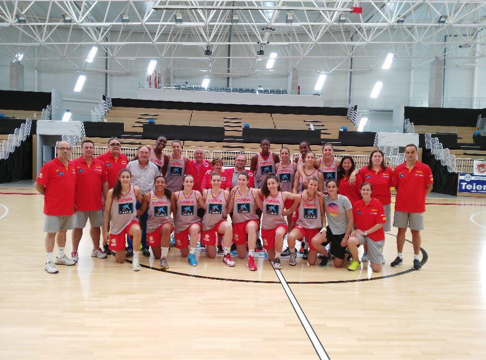 seleccion baloncesto femenino cruz roja